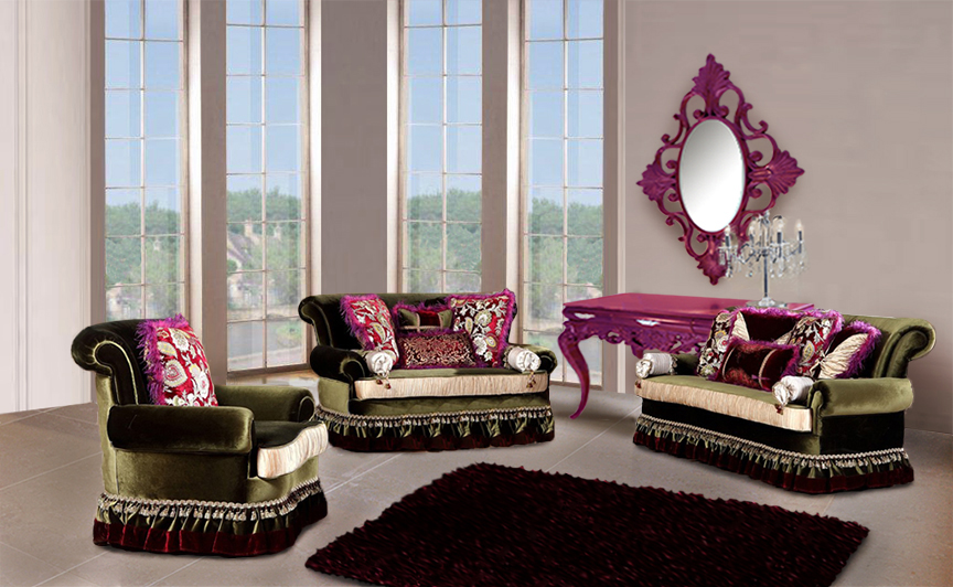 Gallery For Luxury Living Room Furniture Sets