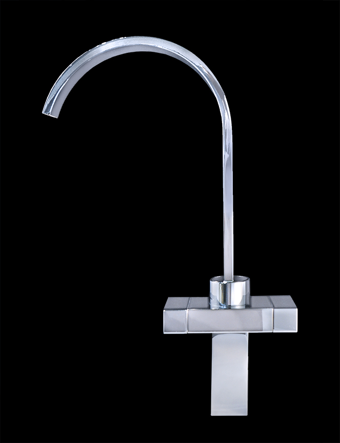 Monte Carlo I Chrome Finish Modern Bathroom Faucet