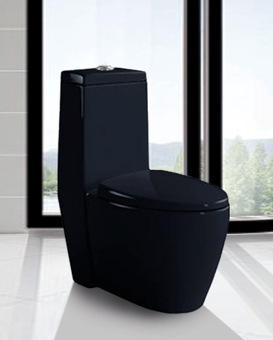 Bettino Black Modern Bathroom Toilet Product Printer Friendly Page