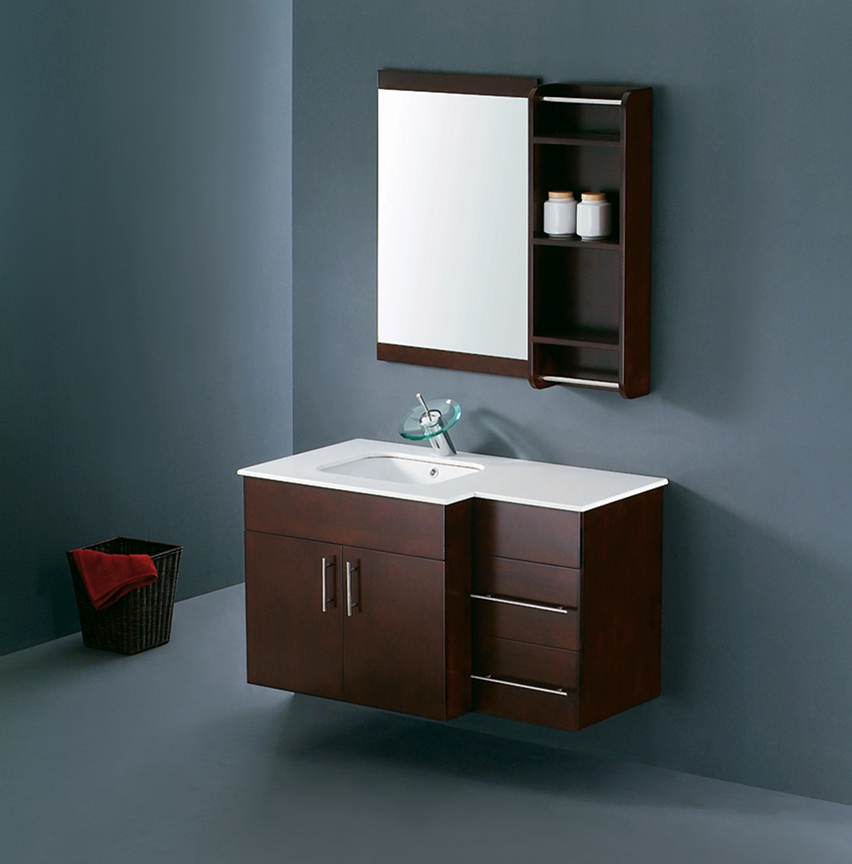 Modern bathroom vanity set raffaello for Modern bathroom sink and vanity