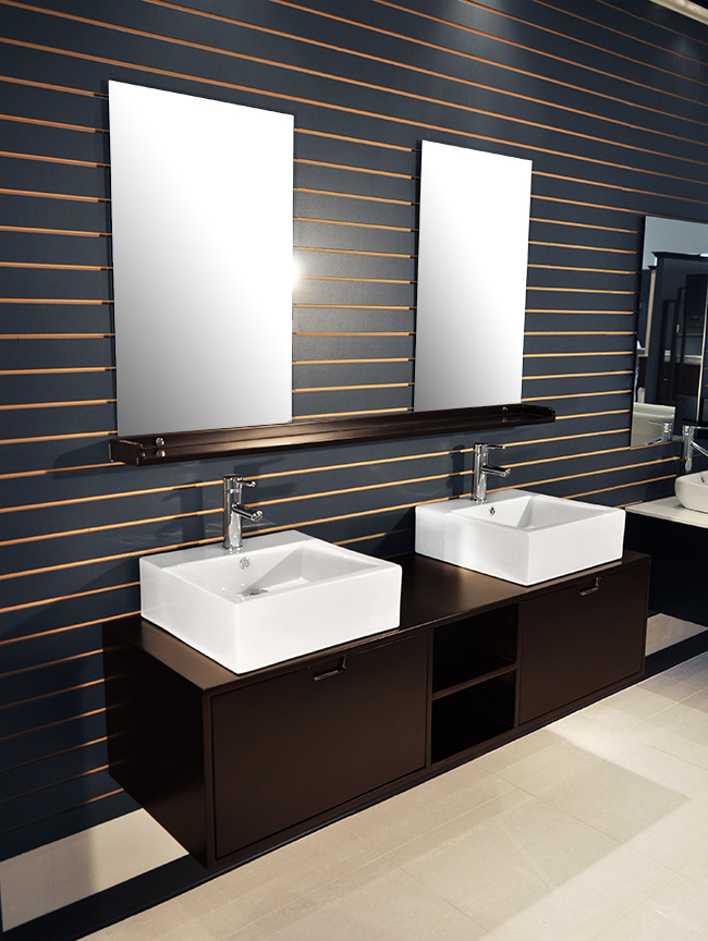 riviera modern bathroom vanity set 63