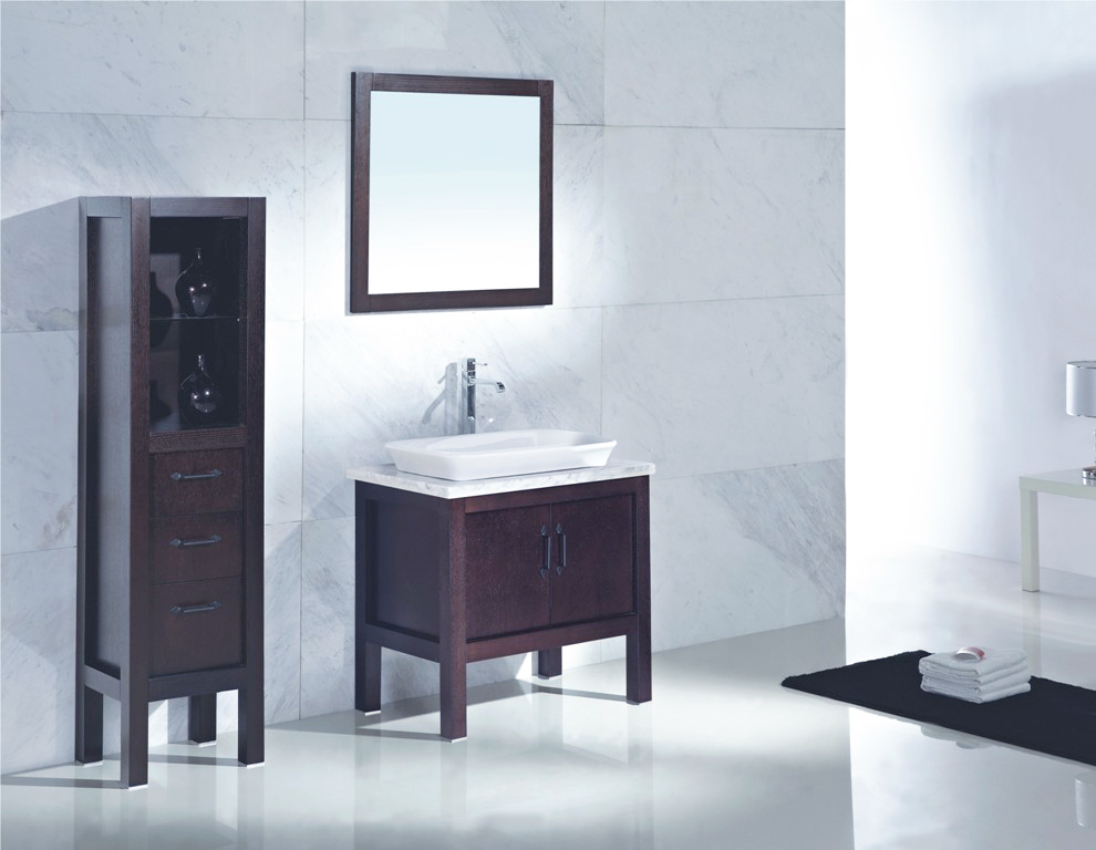 Modern bathroom vanity set izano for Bath and vanity set