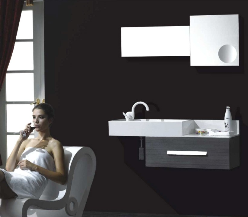 Vanities Single Sink Aviateur Modern Bathroom Vanity Set 51 Tweet