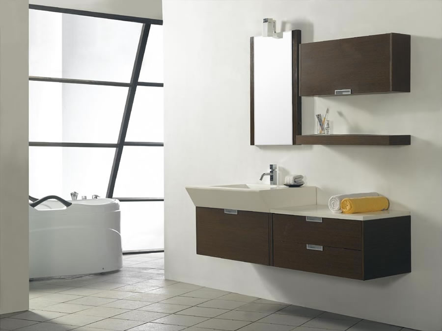 Modern Single Sink Vanity : Modern-Bathroom-Vanity-Single-Sink-N032A-1.jpg