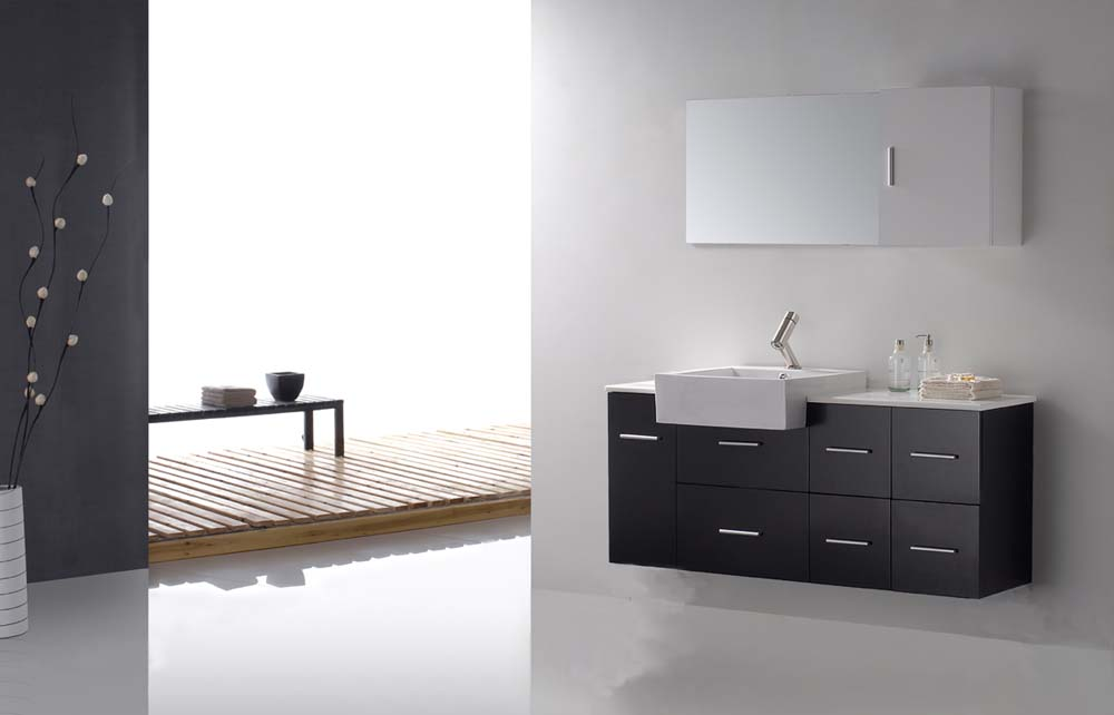 Modern Bathroom Loza Modern Bathroom Vanity Set 55