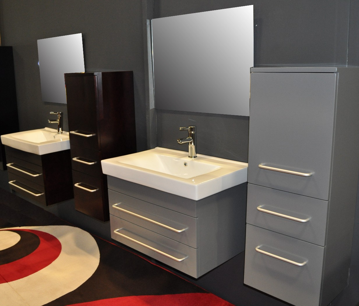 Modern bathroom vanity mist Bathroom sink cabinets modern
