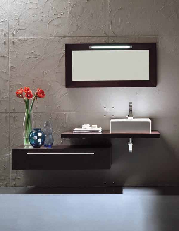 Modern bathroom vanity set monte carlo for Modern bathroom vanity designs