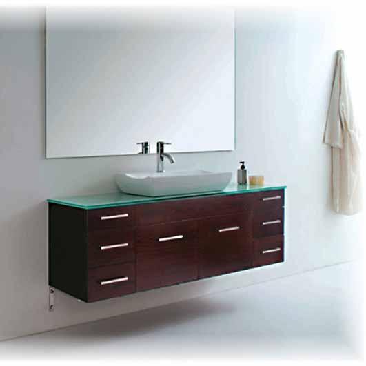 Modern Single Sink Bathroom Vanities