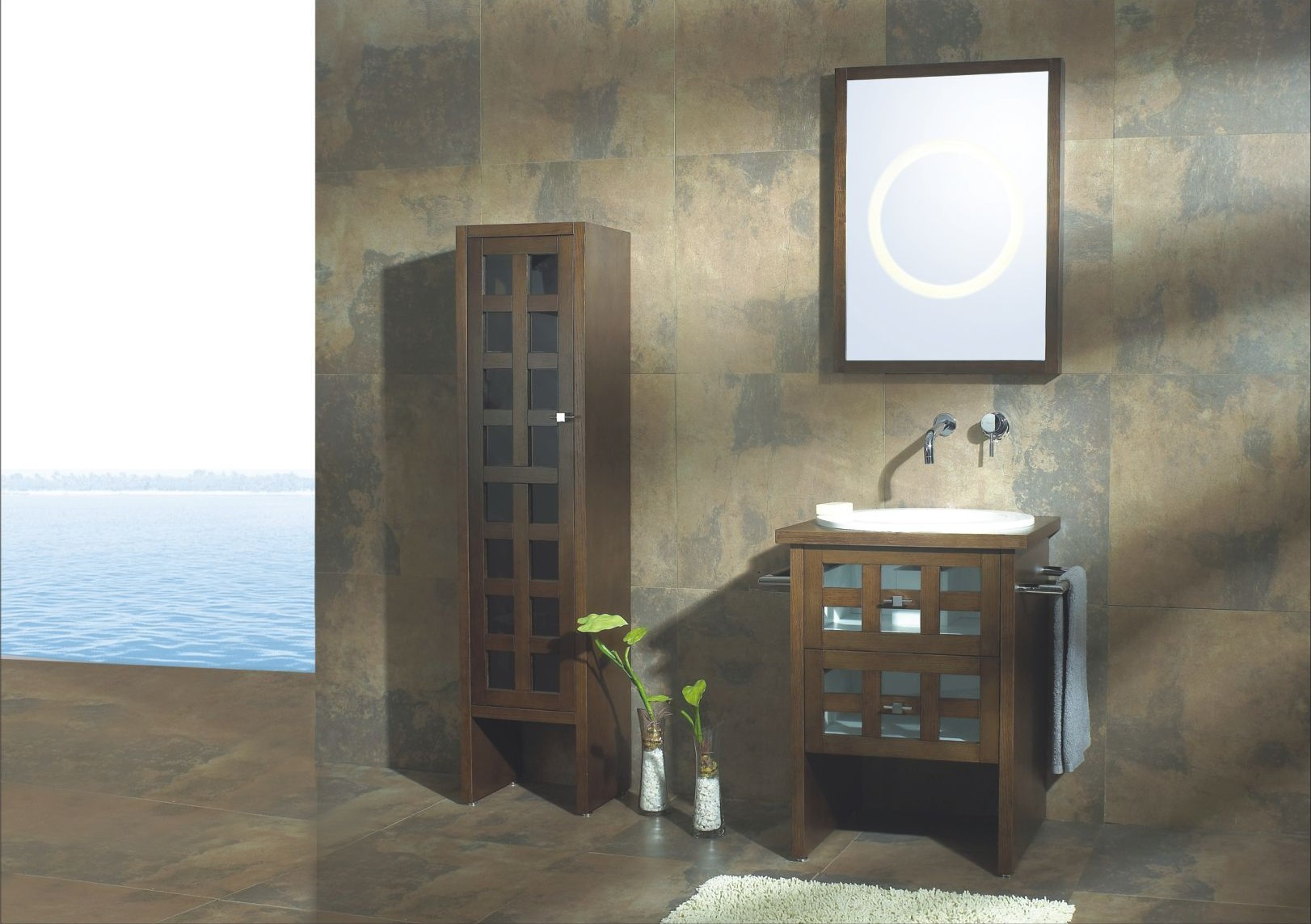 Modern Bathroom Avallino Modern Bathroom Vanity Set 22