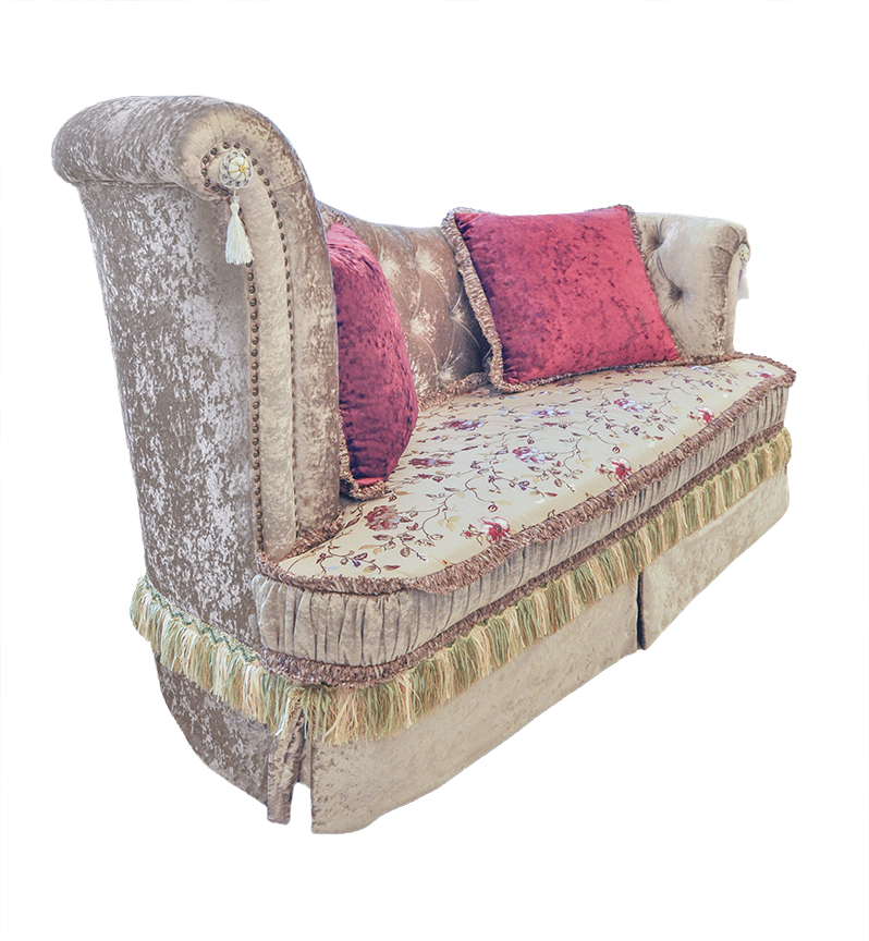 Catalina luxury chaise for Aurore luxury chaise