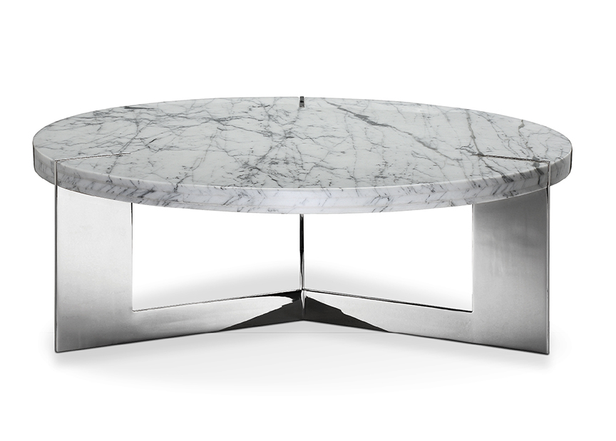 Modern coffee table marble coffee table round coffee table - Modern coffee table ...