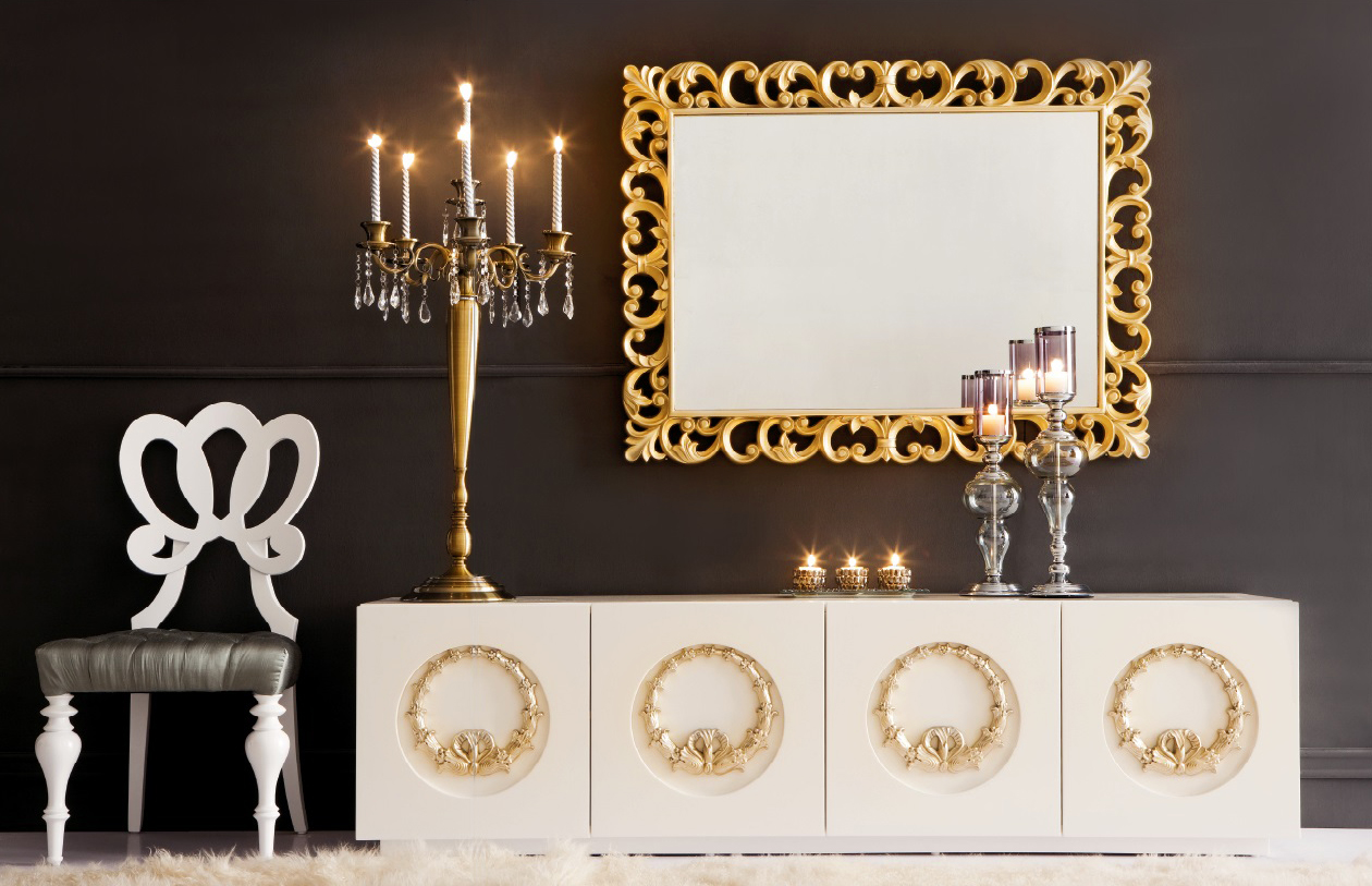 click to see larger image decorative wall mirror dorvall - Large Decorative Wall Mirrors