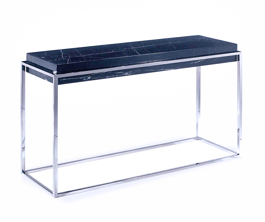 mesero modern console table. Black Bedroom Furniture Sets. Home Design Ideas