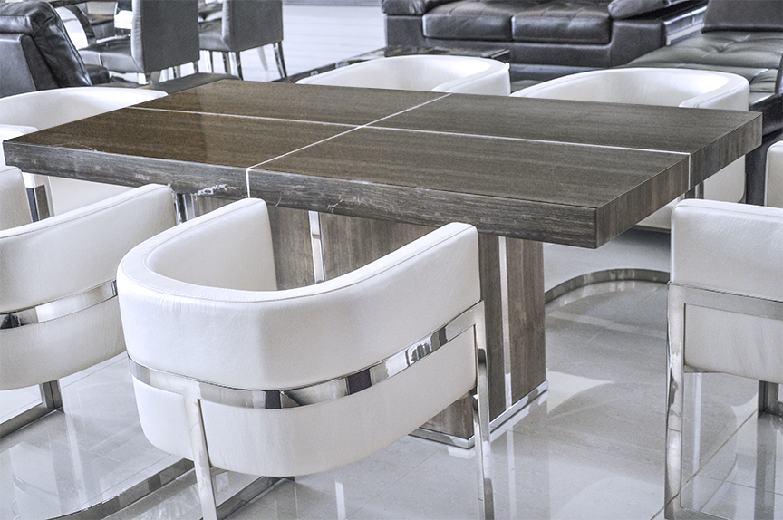 Legno ii modern dining table for Modern kitchen table