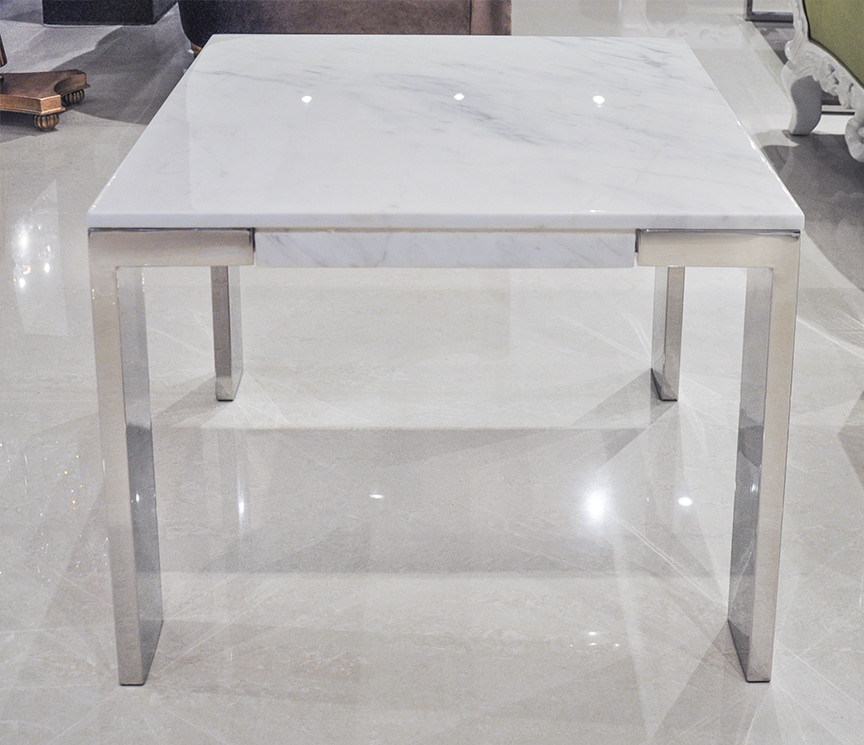 Z Gallerie Marble Coffee Table: Laterza II Marble End Table