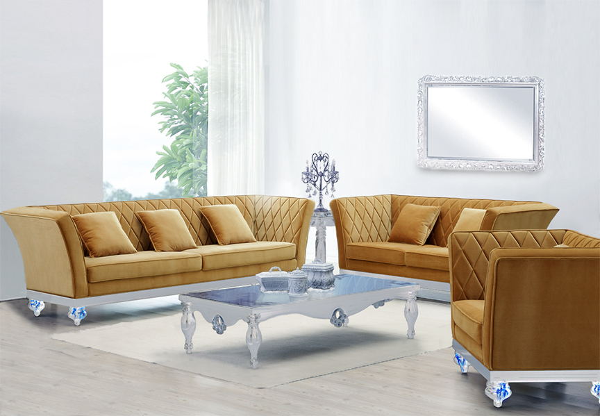 click to see larger image. Living Room Sofa Set   Cherise