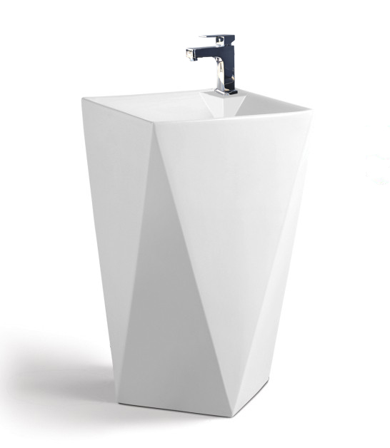 sinks maccione modern bathroom pedestal sink vanity 20 1 tweet