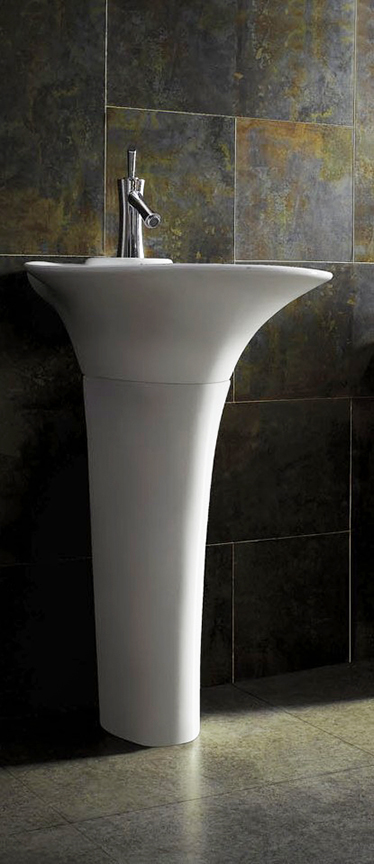 sinks treviso modern bathroom pedestal sink vanity 24 4 tweet