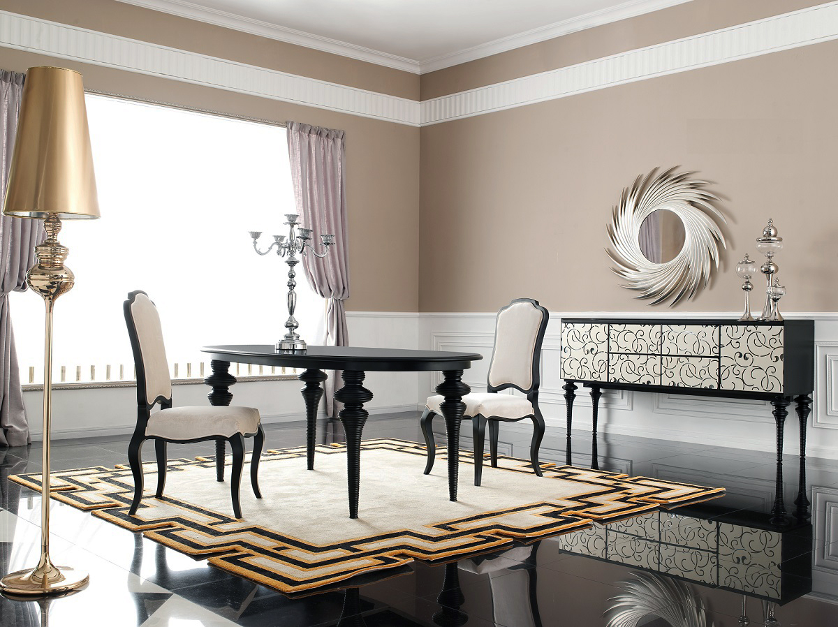 Contemporary buffet table furniture - Click To See Larger Image