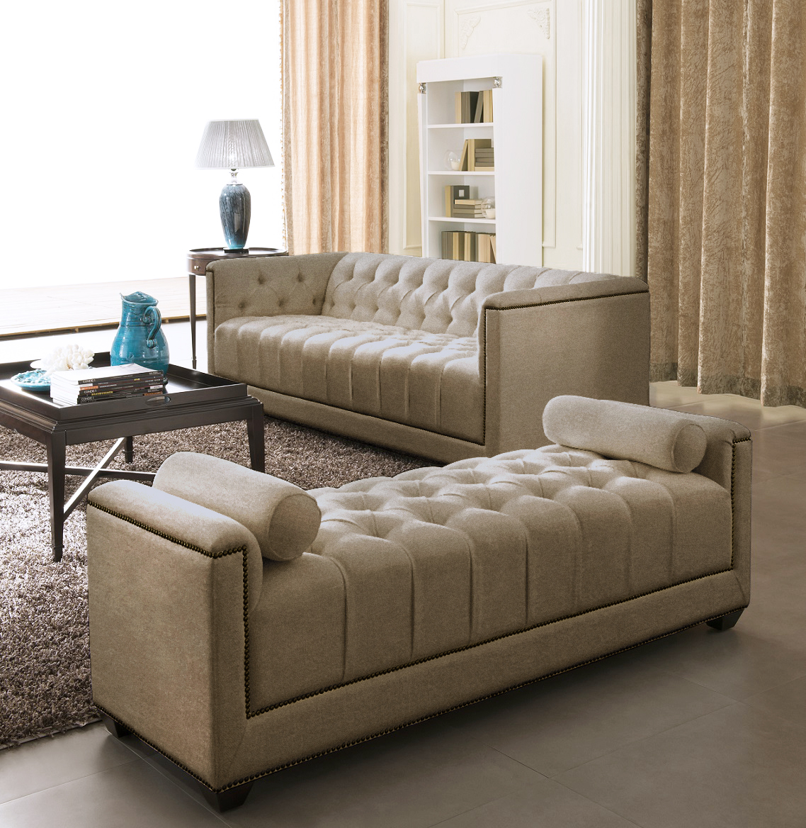 Modern Sofa Set - Living Room Sofa Set - Eden - Moki