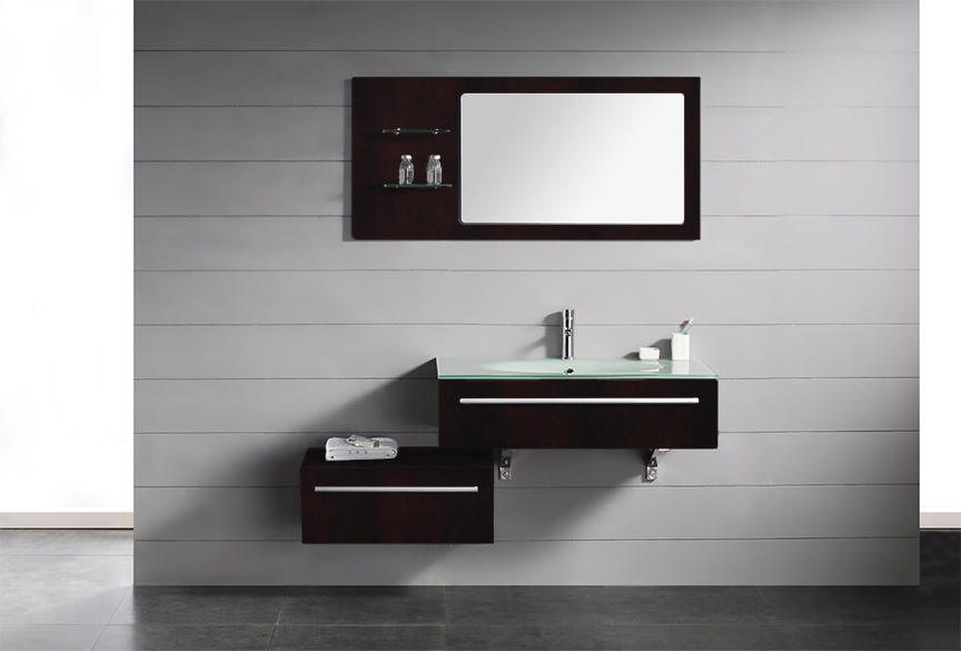 Modern bathroom sink cabinets - Description Triton Modern Bathroom Vanity Set Triton Is A Modern