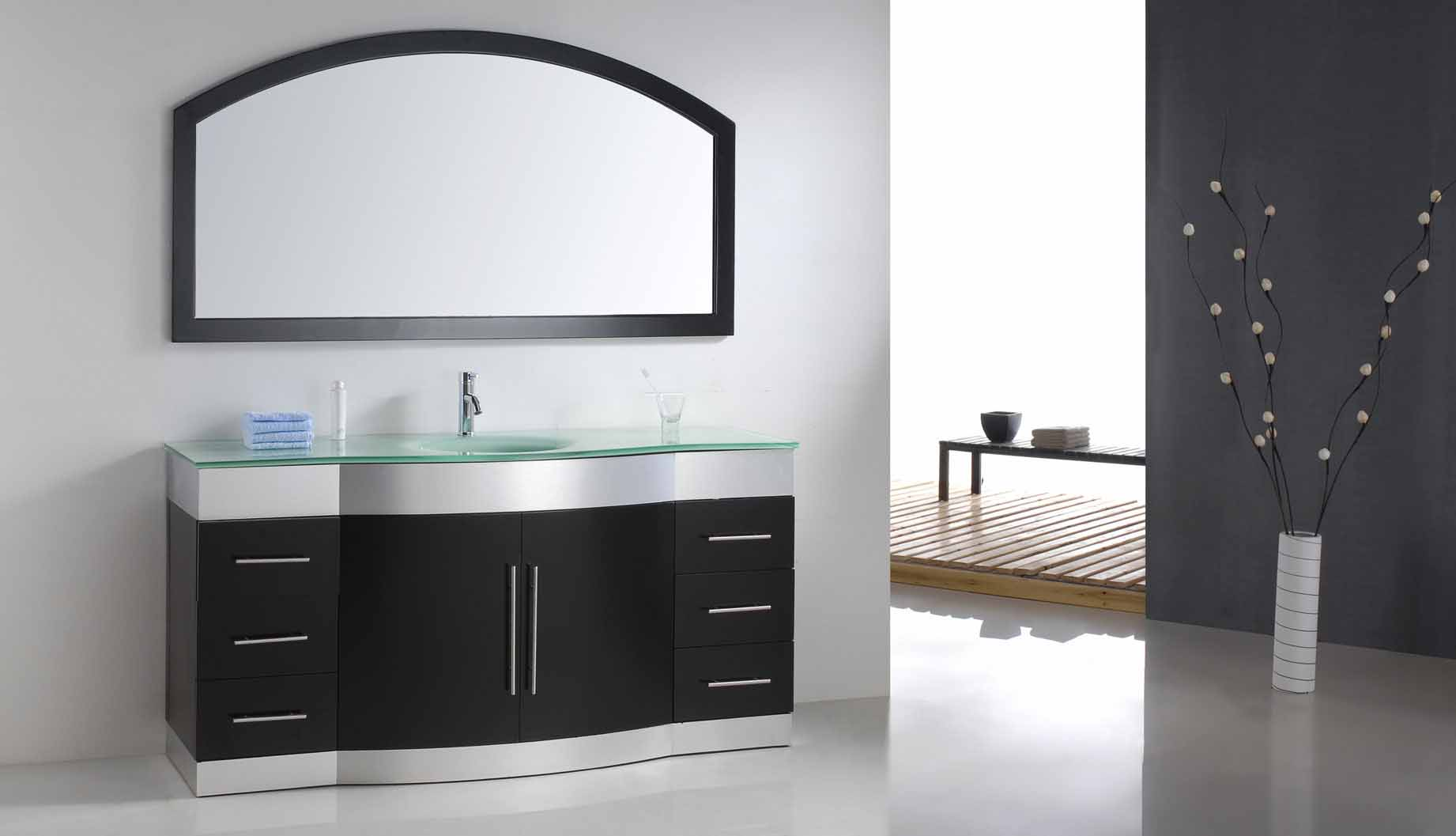 Modern Bathroom Vanity - Contessa