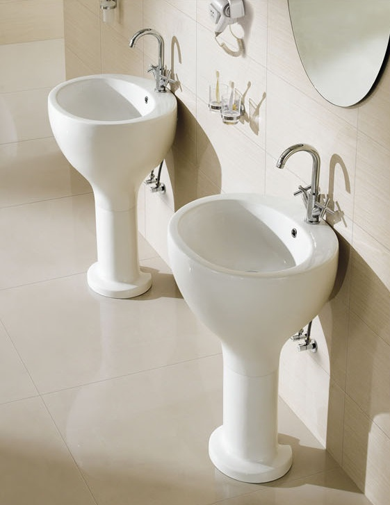 Modern Pedestal Sink Contemporary Pedestal Sink Barron