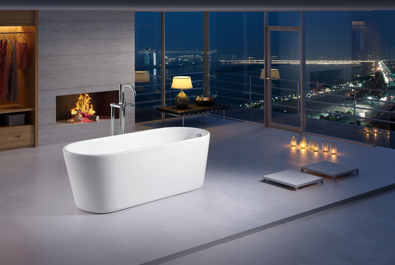 Modern Freestanding Soaking Tubs - home decor - Decordova.us