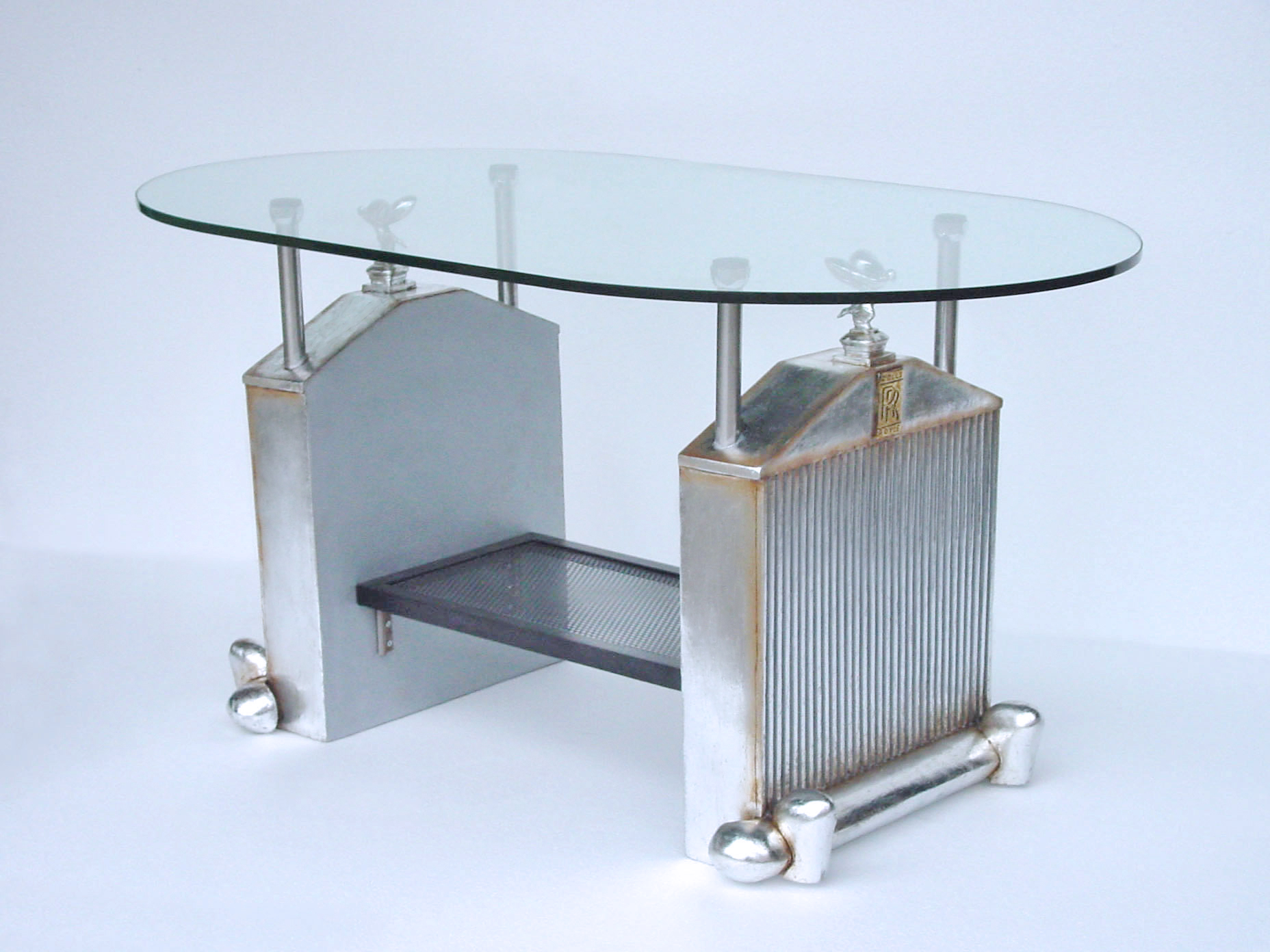 Center Table With Glass : Rolls Royce Car Center Table With Glass