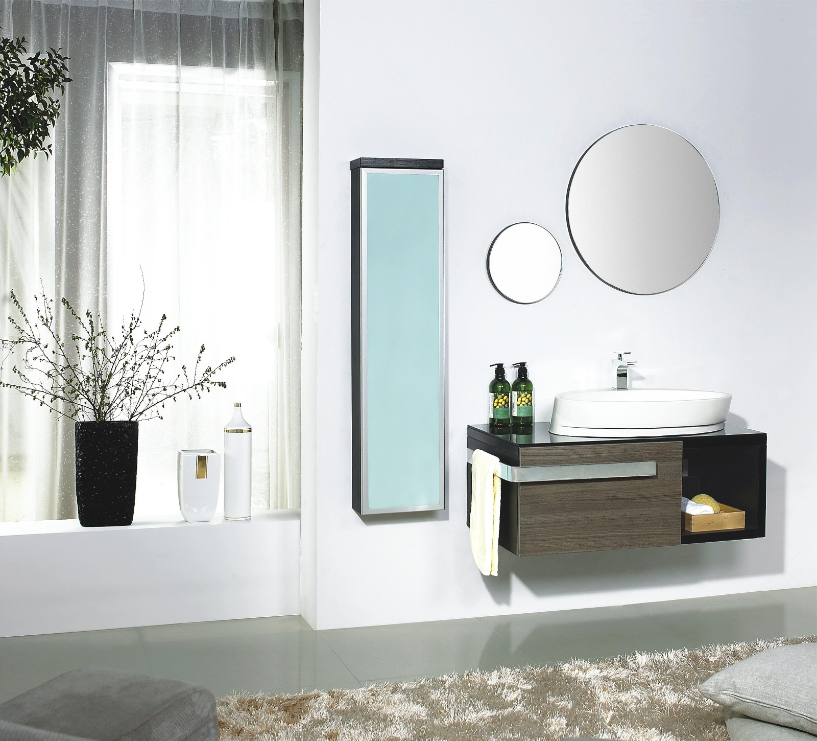 Modern Bathroom Vanity - Torrazza
