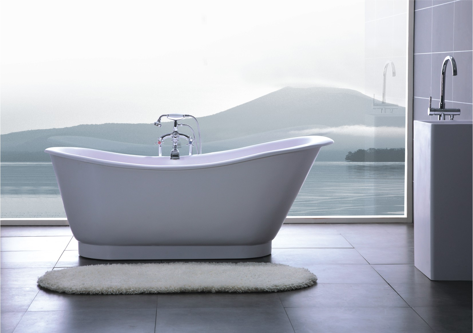 Armada luxury modern bathtub 69 for Bathtub in bathroom