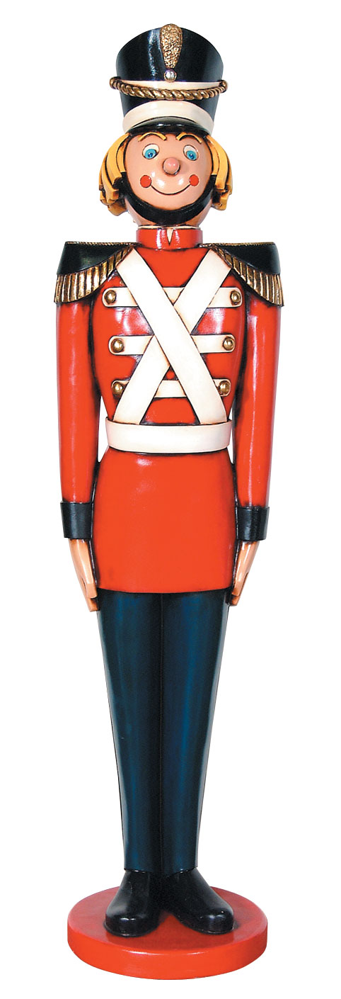 Tin Soldier Statue Life Size Christmas Decor 5 5 Ft