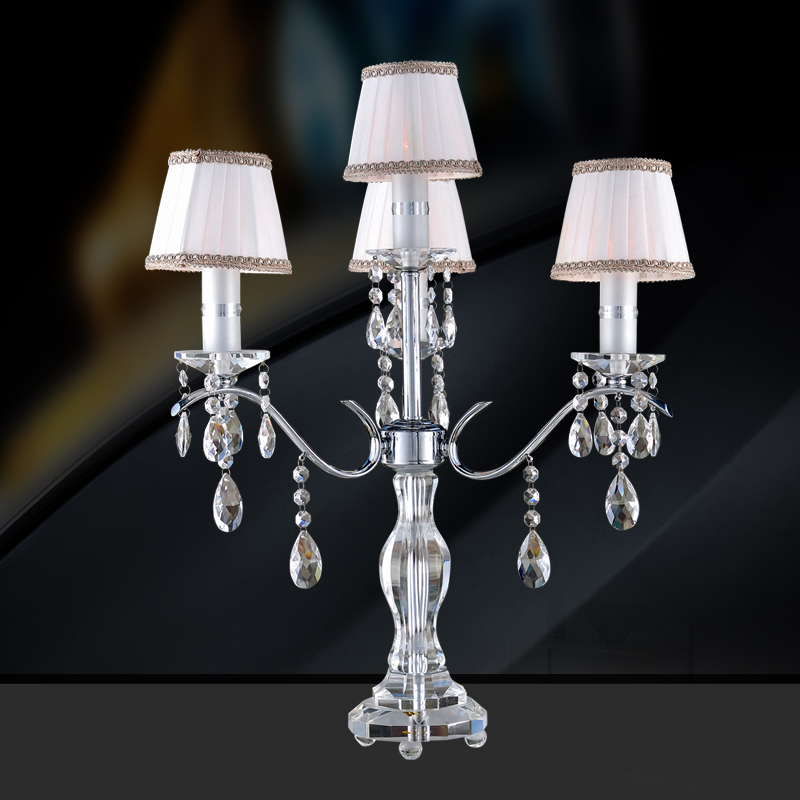 Chandelier table lamp cordelia - Chandelier desk lamp ...