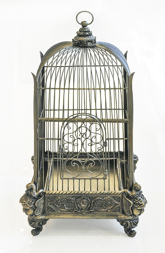 decorative bird cage conservatory bronze. Black Bedroom Furniture Sets. Home Design Ideas