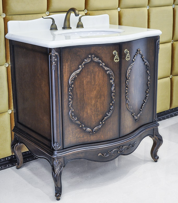 antique bathroom vanity set chester