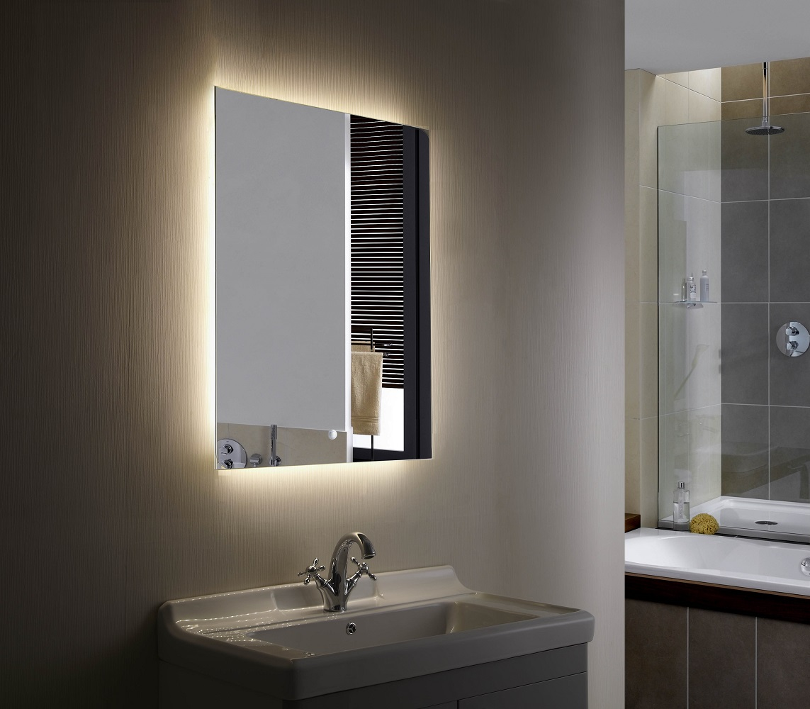 Anzo II Backlit Mirror LED Bathroom