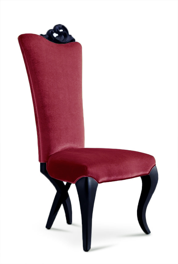 Miraculous Chloe Modern Dining Chair Red Velvet Caraccident5 Cool Chair Designs And Ideas Caraccident5Info