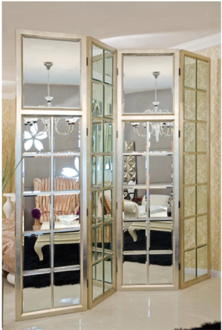 Room divider screen divider room divider screens loiret - Mirror screen ...
