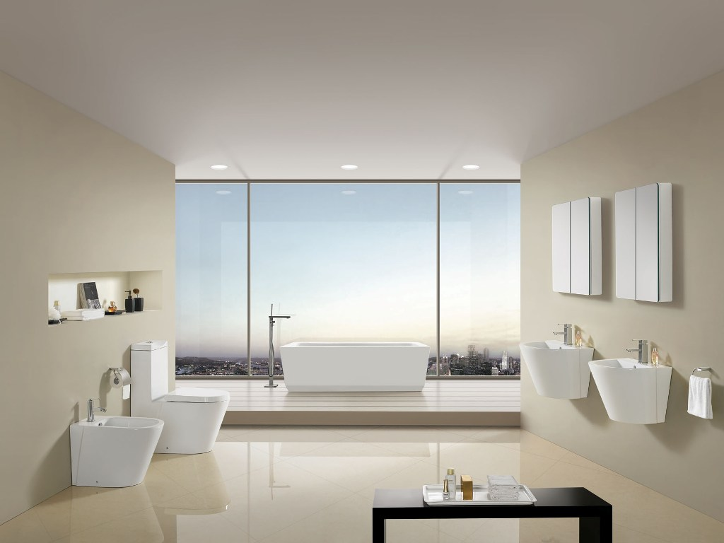 Modern bathroom toilet - Click To See Larger Image Camillo Modern Bathroom Toilet 28