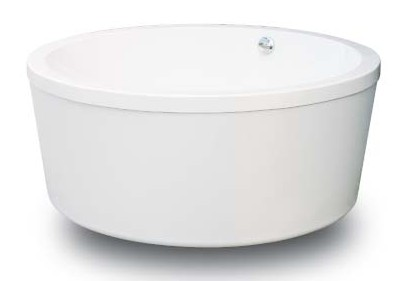 Pasiano Freestanding Soaking Round Bathtub 60