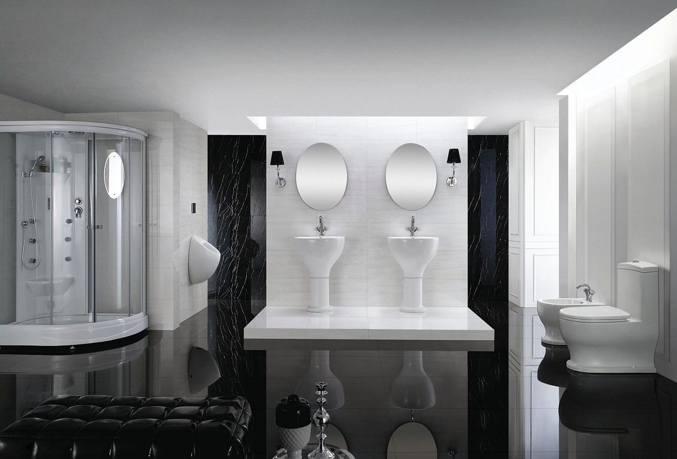 click to see larger image  Modern Toilet. Modern Toilet   Bathroom Toilet   One Piece Toilet   Dual Flush