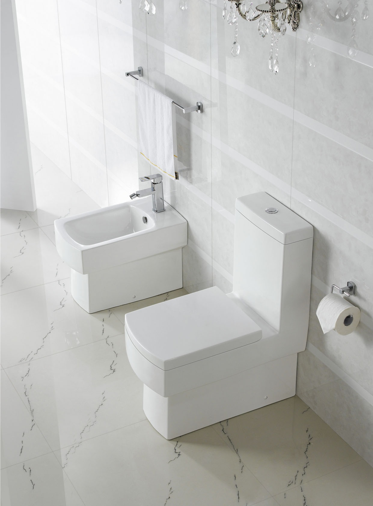 Modern toilet bathroom toilet one peice toilet dual flush france - Inodoros modernos ...