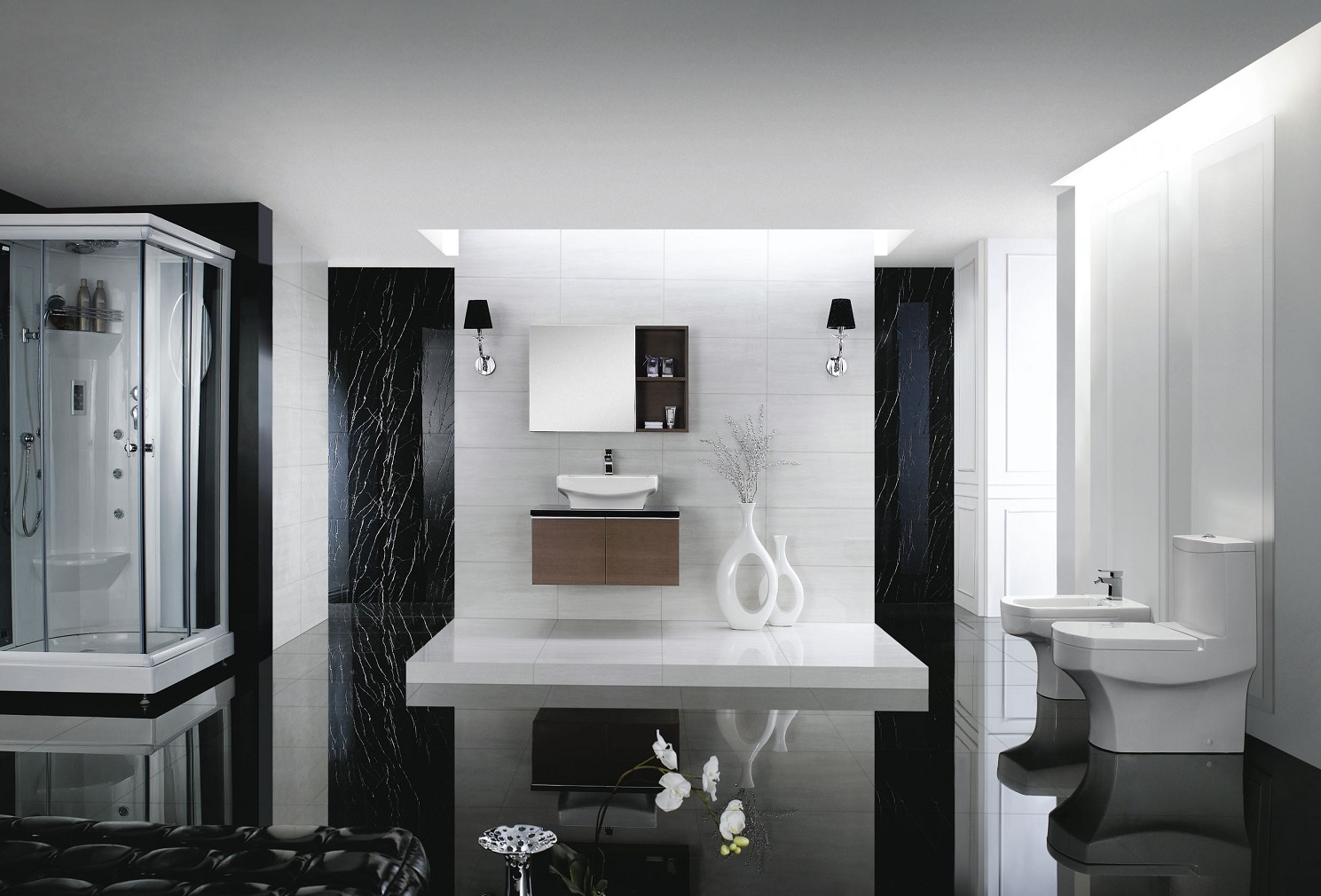 Click To See Larger Image Modern Toilet