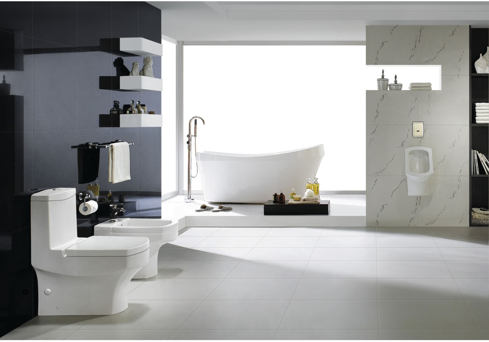 click to see larger image. Modern Toilet   One Piece Toilet   Tori