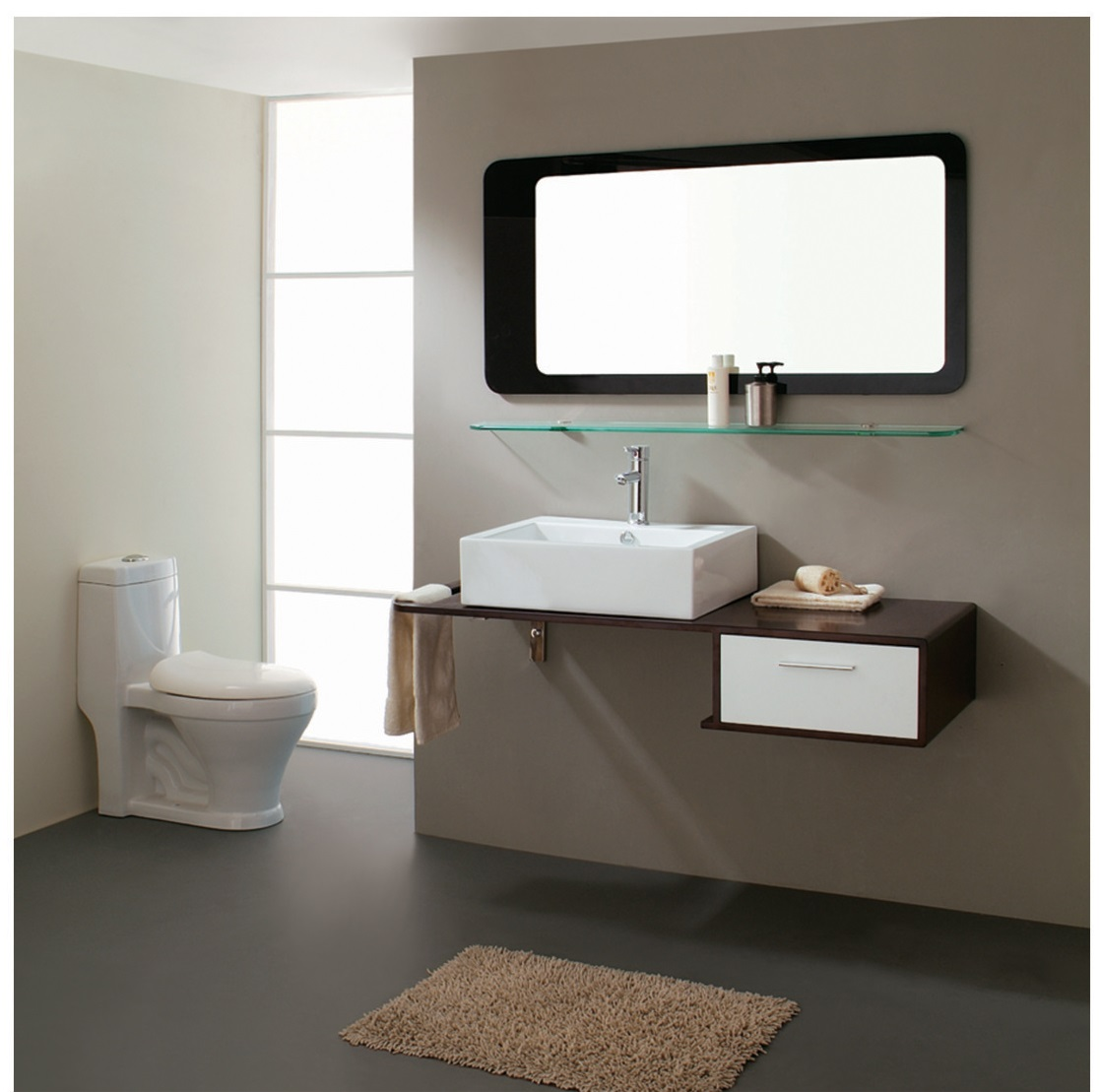 modern bathroom vanity set moderno