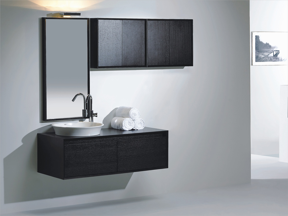 Modern Bathroom Borzano Modern Bathroom Vanity Set 57