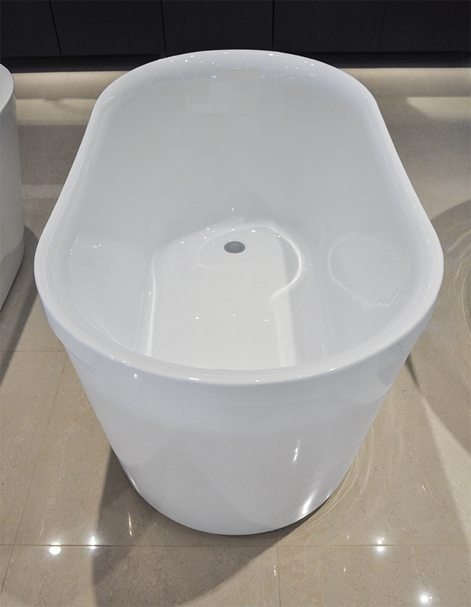 floriello acrylic freestanding soaking bathtub 51