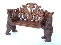 Bench with Two Bears
