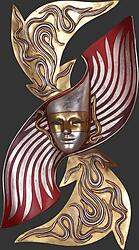 Anatalio Decorative Wall Mask