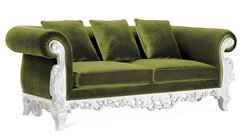 Claudette Living Room Sofa Set